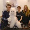 Dreharbeiten im Hundesalon Dog's Beauty